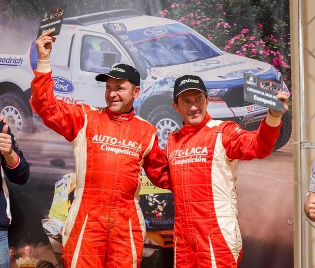 Dani Solà y Marc Martí Campeones de España de rallys TT