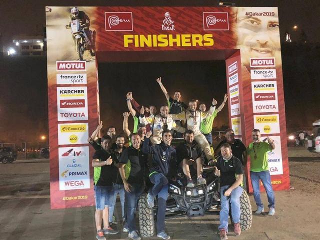 FN Speed Team clasifica todos sus equipos en el Rally Dakar 2019